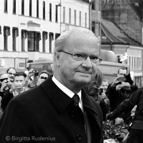 King Carl XVI Gustav Sweden